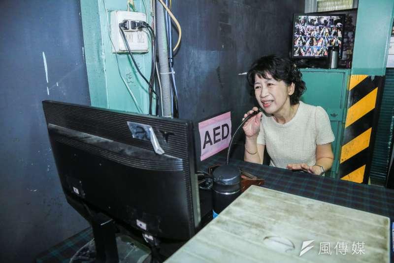 台北市長柯文哲的妻子陳佩琪(見圖)表示,要贏得選舉不難,只要做到3件事就行,疑似是在酸民進黨。(資料照,簡必丞攝)