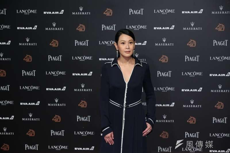 《後來的我們》由導演劉若英領軍,與演唱電影主題曲的陳奕迅一行人踏上紅毯,吸引大量目光。(顏麟宇攝)