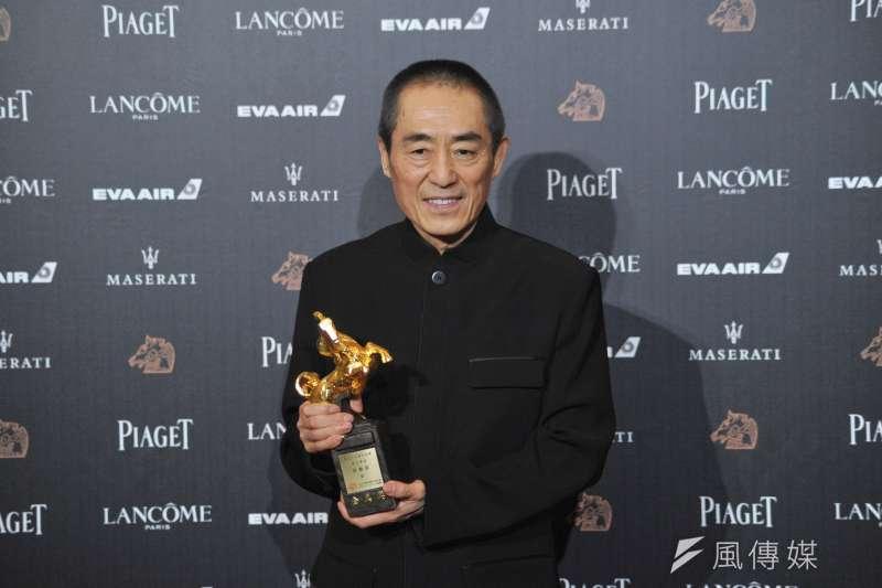 去(2018)年奪下金馬獎「最佳導演」的中國名導張藝謀,本屆不會參賽。(資料照,甘岱民攝)