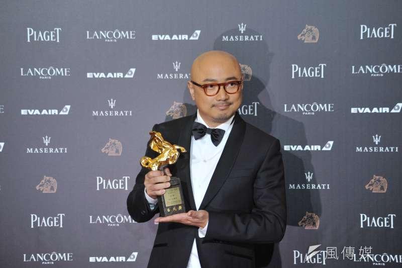 20181117-第55屆金馬獎,《我不是藥神》最佳男主角徐崢。(甘岱民攝)