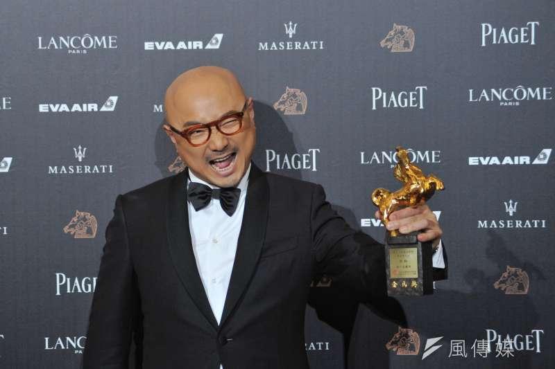 第55屆金馬獎最佳男主角,由主演《我不是藥神》的徐崢奪下,早已獲得眾多獎項肯定的他,此次封頂影帝可說是名符其實。(甘岱民攝)