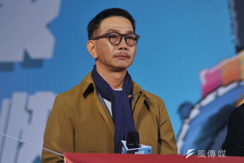 金馬獎最佳男配角袁富華(見圖)說,當初他很怕演不好的話,就會破壞《翠絲》整個劇本。(甘岱民攝)
