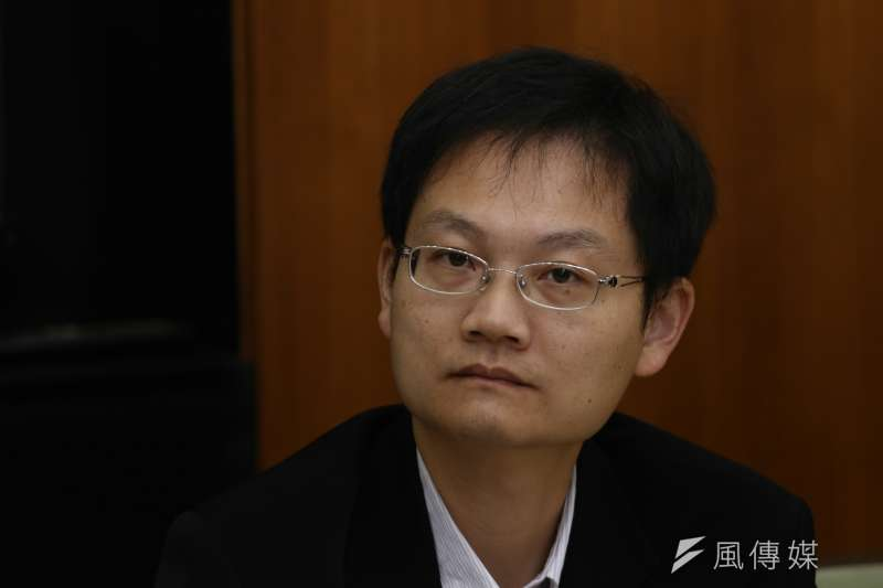 20181119-2018年法律界反對公投第16案以核養綠聲明記者會,台北律師公會張譽尹律師。(陳品佑攝)