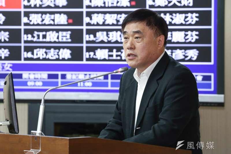 針對文化部長遭掌摑事件,前台北市長郝龍斌指為「官逼民反」,引發爭議。(陳品佑攝)