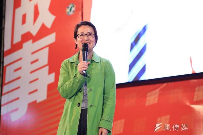 民進黨立委蕭美琴(見圖)選擇到對民進黨最艱困的花蓮後山,正面對戰「花蓮王」傅崐萁,更證明自己是不折不扣的台灣蕭美琴。(資料照,簡必丞)