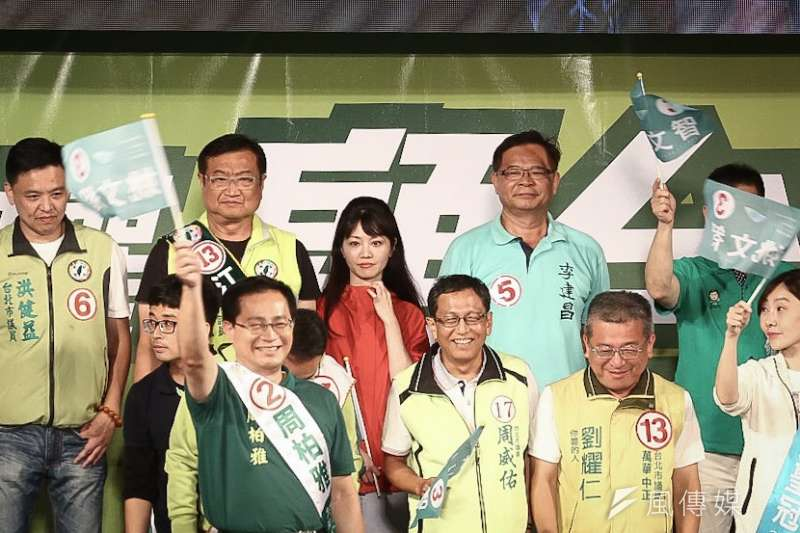 遭姚文智暗酸落跑,台北市議員高嘉瑜盼姚能放下仇恨,大家團結,明晚她也會出席姚文智舉辦的選前之夜。(資料照,陳品佑攝)