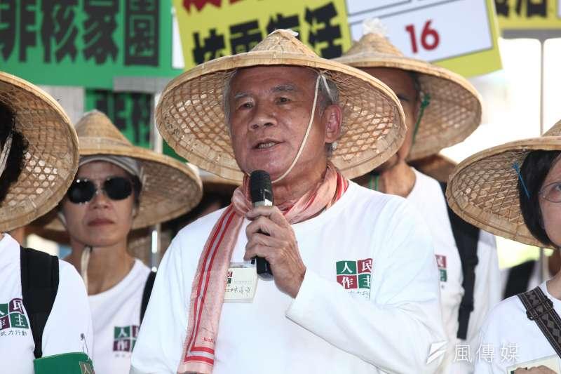 林義雄當年領導國會議員減半,對今日台灣的政治造成深遠影響。(資料照,蔡親傑攝)
