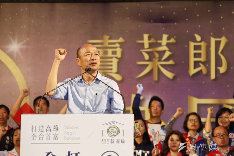 作者指出,6月6日的高雄市長韓國瑜(見圖)罷免投票只是試水溫,一旦嚐到甜頭,還不知道有多少罷免案要出現。(資料照,郭晉瑋攝)