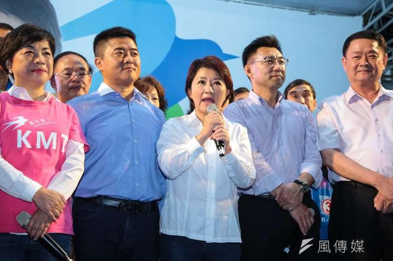 台中市長當選人盧秀燕28日向媒體表示,將修正台中市長林佳龍2項政策,包括暫緩鐵路山手線、更改大巨蛋興建地點。(資料照,顏麟宇攝)
