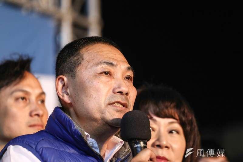 20181124-國民黨新北市長候選人侯友宜開票之夜晚會。(陳品佑攝)