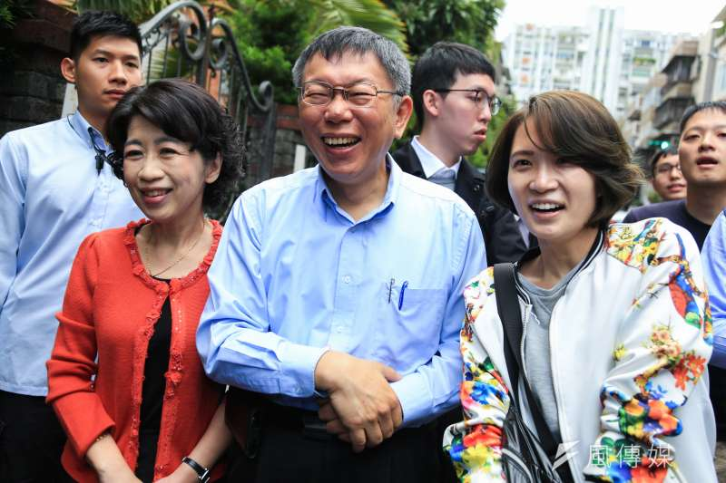 九合一選舉落幕,最終由台北市長柯文哲驚險連任。對此,名嘴周玉蔻酸柯才贏3000多票,「要是我早就羞愧死了!」(資料照,簡必丞攝)
