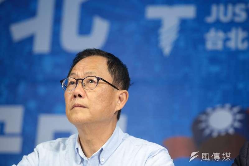 國民黨台北市長落選人丁守中提起司法驗票及選舉無效訴訟。(顏麟宇攝)