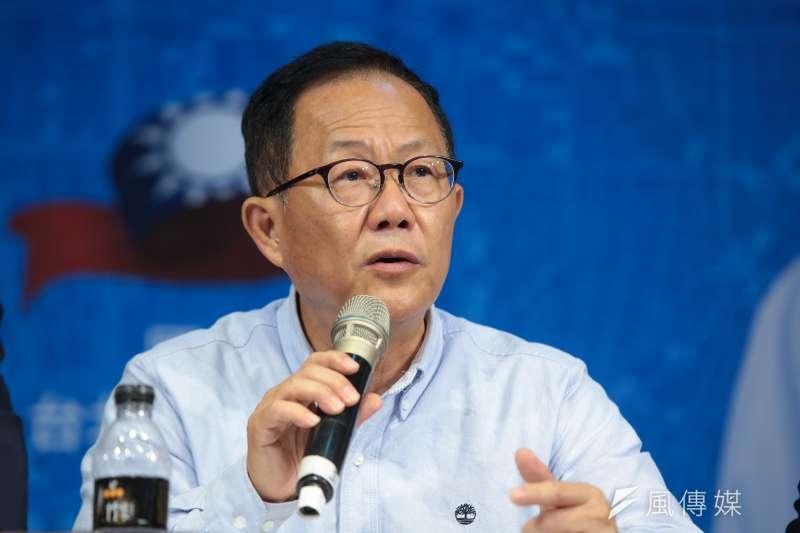 「從歷史數據以及這次選舉的風向來看,我不相信丁守中只有57.7萬票的實力。更不相信全台皆醒,台北人獨醉。」(資料照,顏麟宇攝)