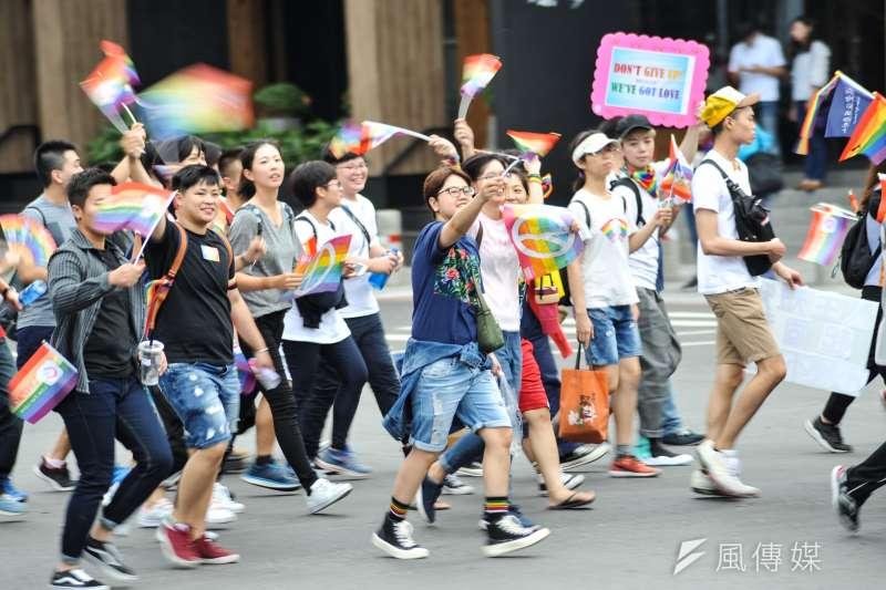 20181125-高雄同志大遊行。(甘岱民攝)