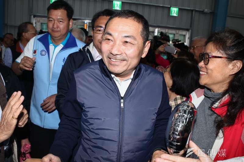 新北市長當選人侯友宜21日公布完整內閣名單,3位副市長人選出爐。(資料照,蔡親傑攝)