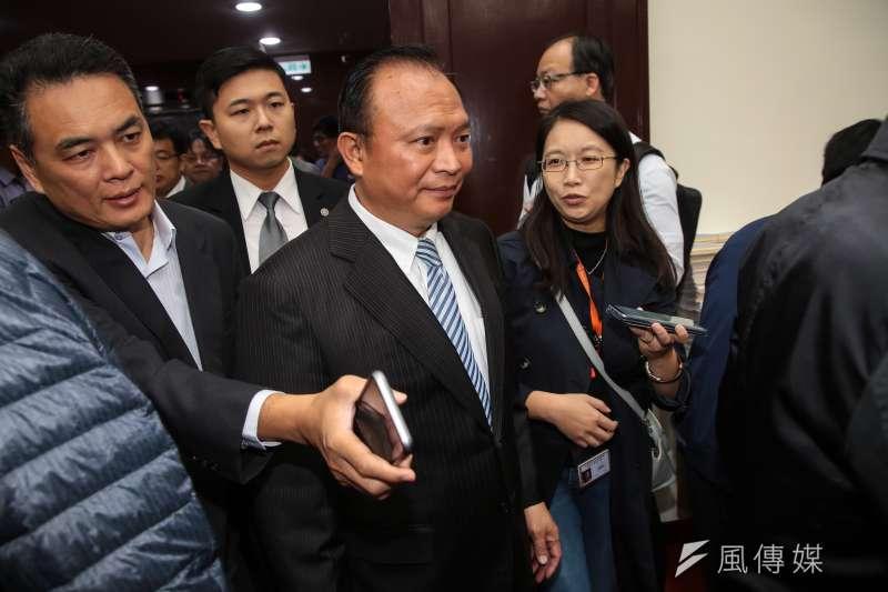 農委會主委林聰賢在民進黨九合一敗選後一周,請辭照准。(顏麟宇攝)