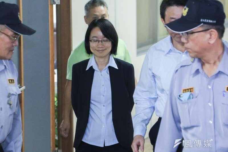 在農委會提議下,北農總經理吳音寧29日遭北農解職。(簡必丞攝)