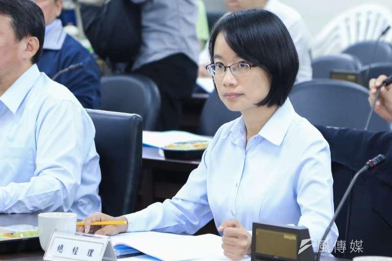 日前媒體報導,民進黨可能徵召北農前總經理吳音寧(見圖)參選彰化縣長。(資料照,簡必丞攝)