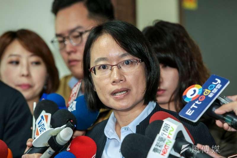 對於台北市長柯文哲的回嗆,前北農總經理吳音寧(見圖)表示,當年不到議會備詢,是因不想「配合柯文哲演戲」。(資料照,顏麟宇攝)
