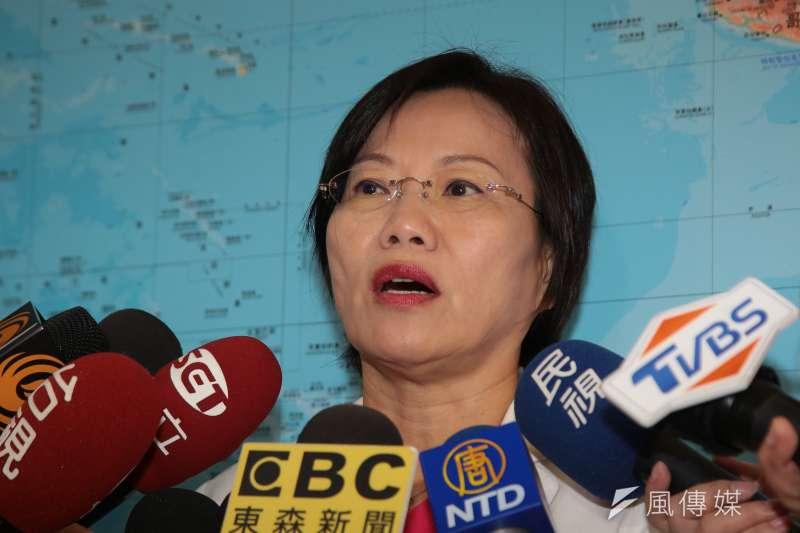 20181128-民進黨立委劉世芳28日於立院接受媒體聯訪。(顏麟宇攝)