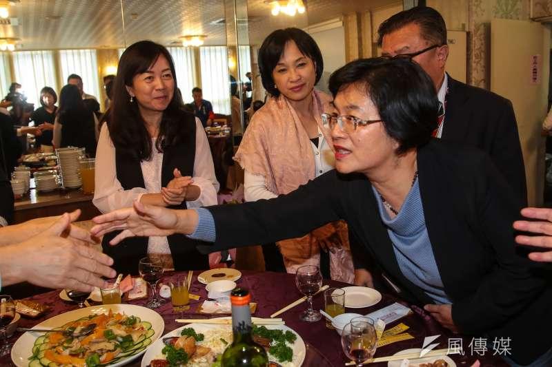 20181130-新科彰化縣長王惠美30日出席國民黨立院黨團歡送惜別餐會。(顏麟宇攝)
