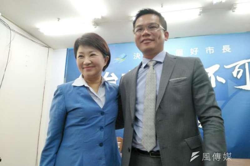 台中市長當選人盧秀燕11月30日公布由ˊ吳皇昇出任市府新聞局長,但被外界質疑是選後派系分贓。(資料照,王秀禾攝)