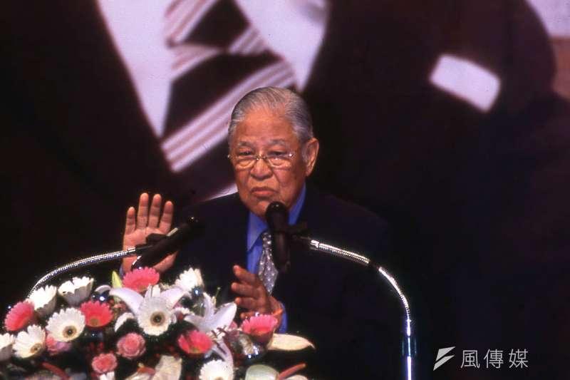 日本駐台代表泉裕泰推崇前總統李登輝(見圖)是「台灣民主化之父」。(新新聞資料照)