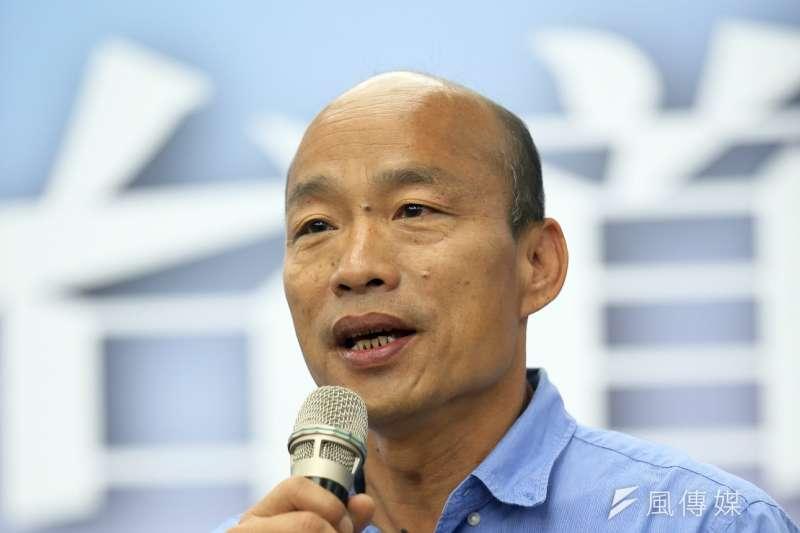 準高雄市長韓國瑜農業局長人選曝光。(資料照,徐炳文攝)