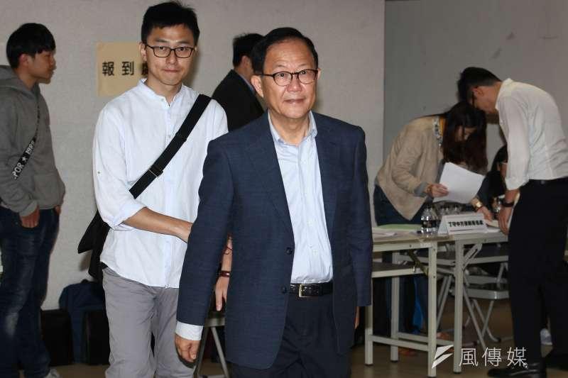 國民黨籍台北市長候選人丁守中提起選舉無效訴訟,今(22)日再申請提新證據調查。(資料照,蔡親傑攝)