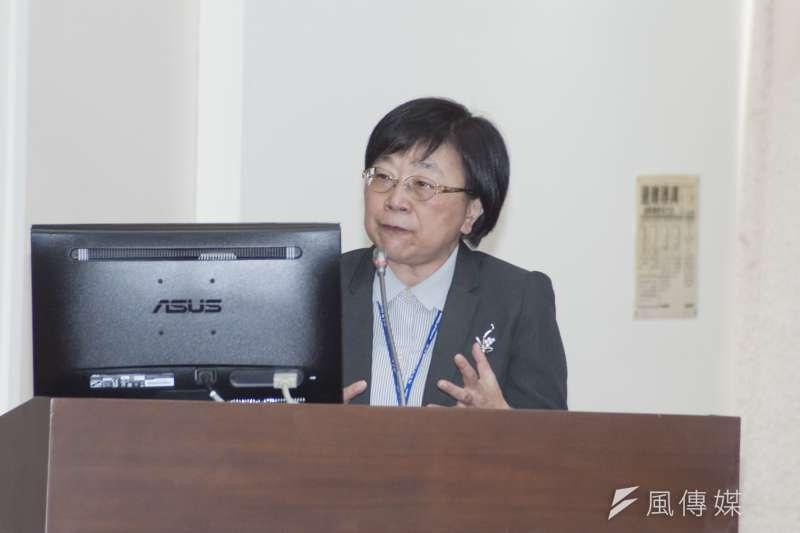 20181203-立法院財政委員會,財政部賦稅署長李慶華。(甘岱民攝)