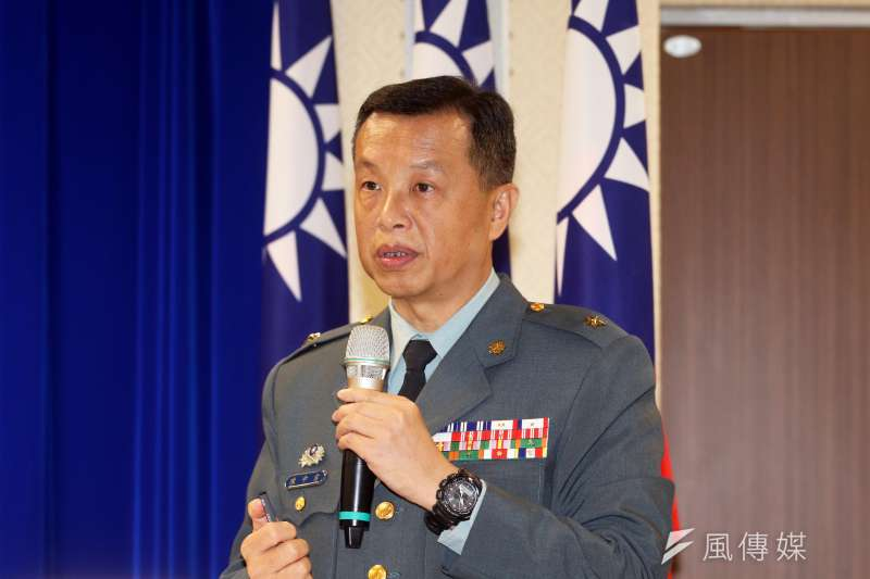 陸軍官校一度遺失T65K2步槍槍機,國防部發言人陳中吉說,現正由陸軍司令部督導改正。(蘇仲泓攝)