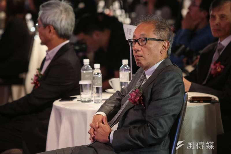晶華酒店董事長潘思亮(見圖)認為台灣最大的國安危機就是「人」。(資料照,顏麟宇攝)