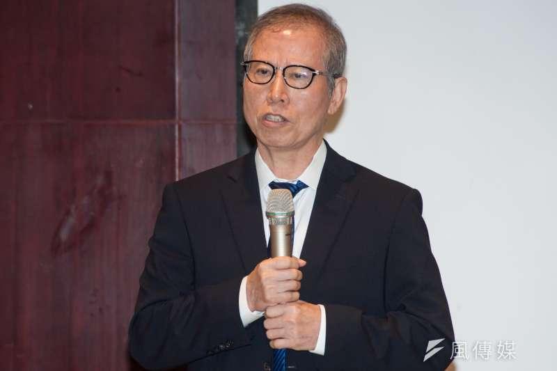 聯合再生能源董事長洪傳獻表示,此次三強聯手代表產業與壽險的合作,加速台灣綠能發電的發展,也滿足壽險業對資金有長期穩定收益的要求。(甘岱民攝)