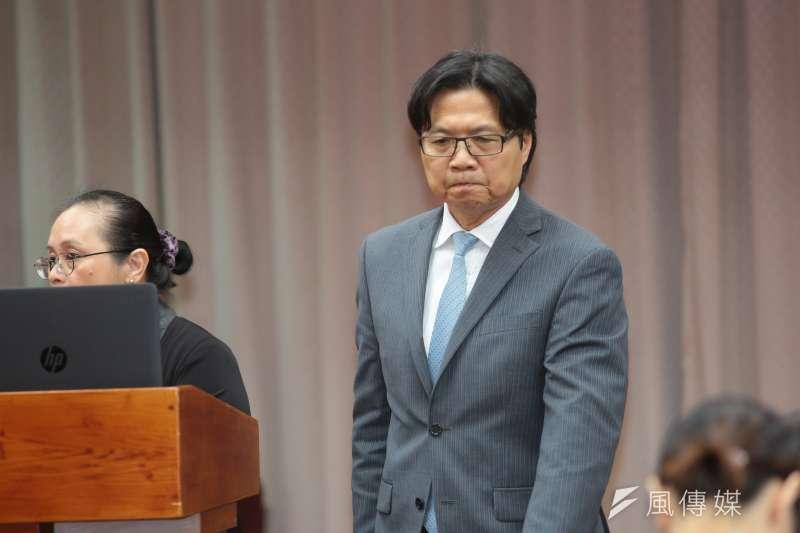 20181205-教育部長葉俊榮5日於教育委員會備詢。(顏麟宇攝)