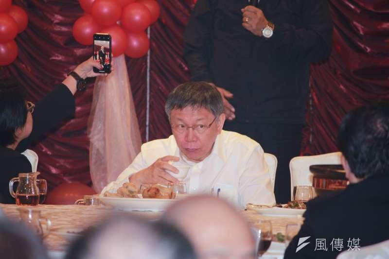 20181206_柯文哲宴請北市議員。(方炳超攝)