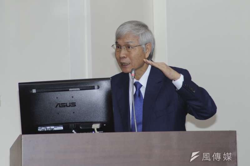 20181206-立法院財政委員會,中央銀行總裁楊金龍。(甘岱民攝)