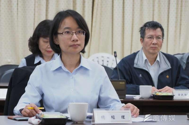 選後吳音寧的北農總經理之位被董事會拔除。(林瑞慶攝)