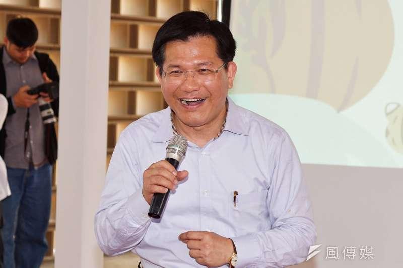 前台中市長林佳龍可望接任交通部長。(資料照,盧逸峰攝)