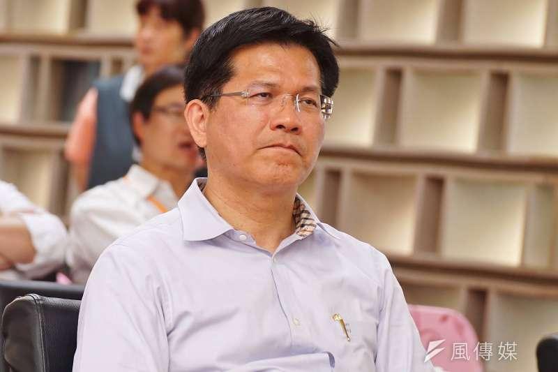 台中市長林佳龍連任大敗,真是敗給空汙嗎?(盧逸峰攝)