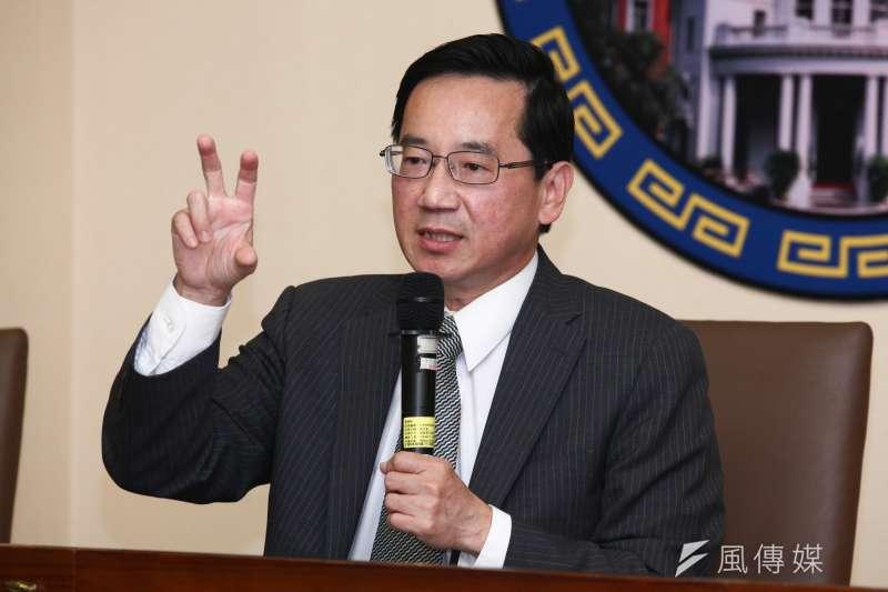 20181207-監察委員張武修召開「政府對日本核食進口管理長期風險評估不足,要求行政院檢討」記者會。(蔡親傑攝)