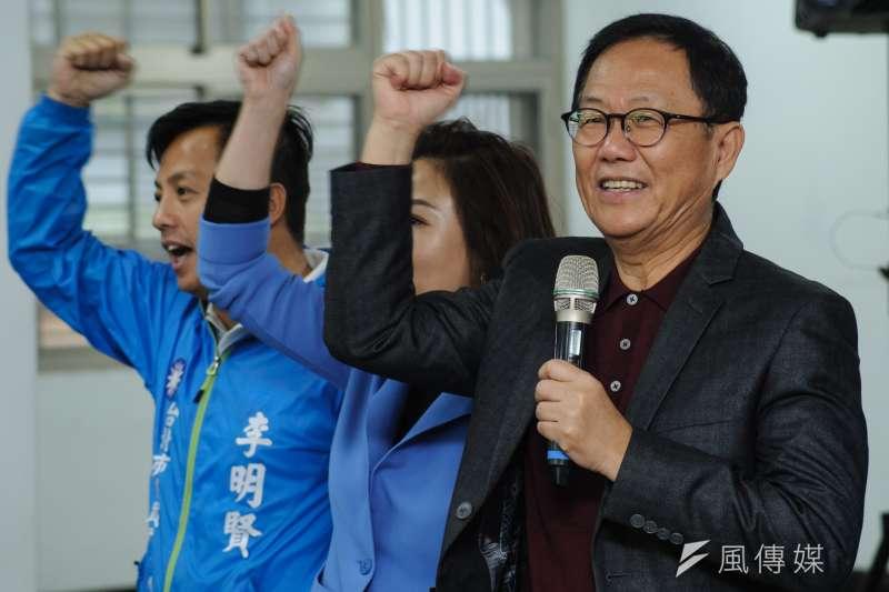 國民黨前立委丁守中為台北市長一戰聲請驗票,到目前為止仍翻盤無望,恐拿不回428萬保證金。(資料照,甘岱民攝)