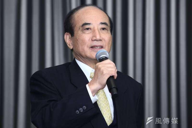 立法院前院長王金平的「台灣公道伯」臉書重出江湖。(資料照片,蔡親傑攝)