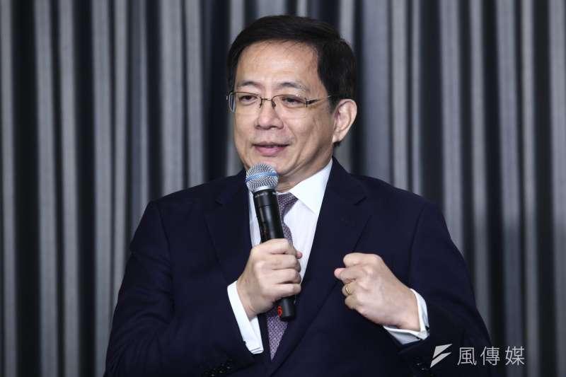 台大校長管中閔因過去擔任公職期間匿名替媒體寫社論引發爭議。(資料照,蔡親傑攝)