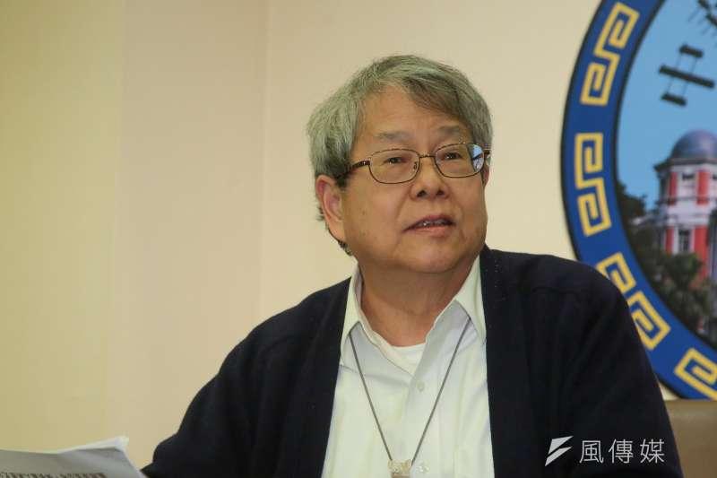 針對管中閔即將出任台大校長,監院委員陳師孟批評,台大也是國民黨開的。(資料照片,顏麟宇攝)