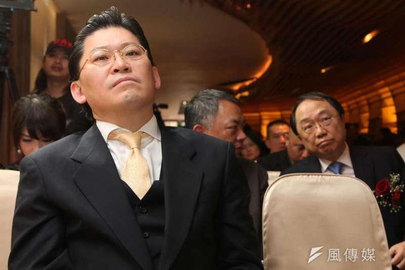 宏泰掌門人林鴻南強勢、霸氣的個性,跟父親林堉璘的低調並不相同。(郭晉瑋攝)