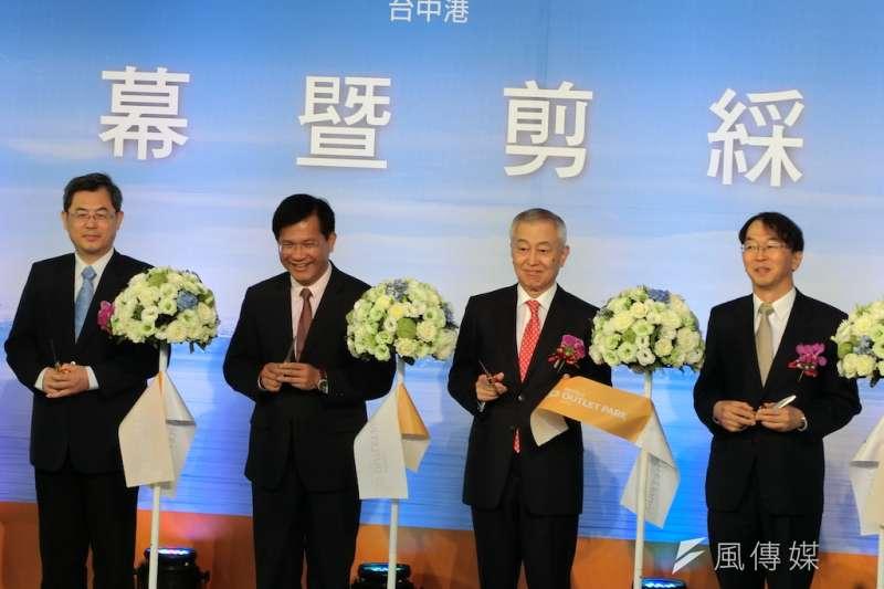 三井OUTLET PARK台中港園區12日正式開幕啟用,形成台中港區亮點。(圖/記者王秀禾攝)