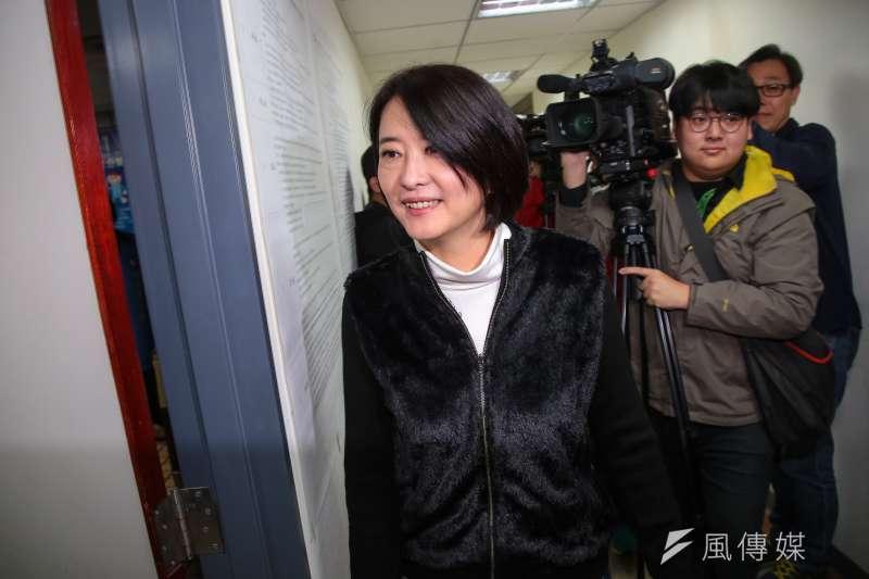 台北市議員王鴻薇指出,現在跑出來幾個獨派大老鬧一鬧,「你們不讓蔡英文出來選,恐怕你們推派出來的候選人更讓人害怕」。(資料照,顏麟宇攝)