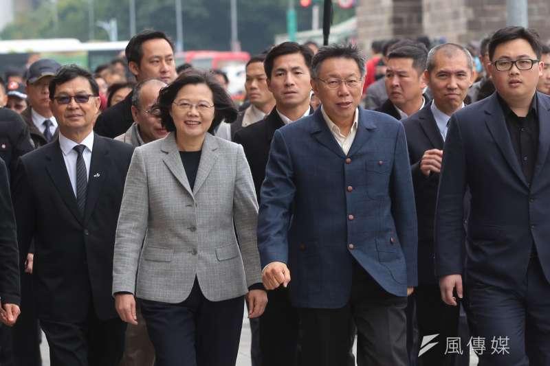 民進黨立委郭正亮表示,2020年總統大選「蔡柯配」不可能,但民進黨還是會想和台北市長柯文哲維持合作的可能性。(資料照,顏麟宇攝)