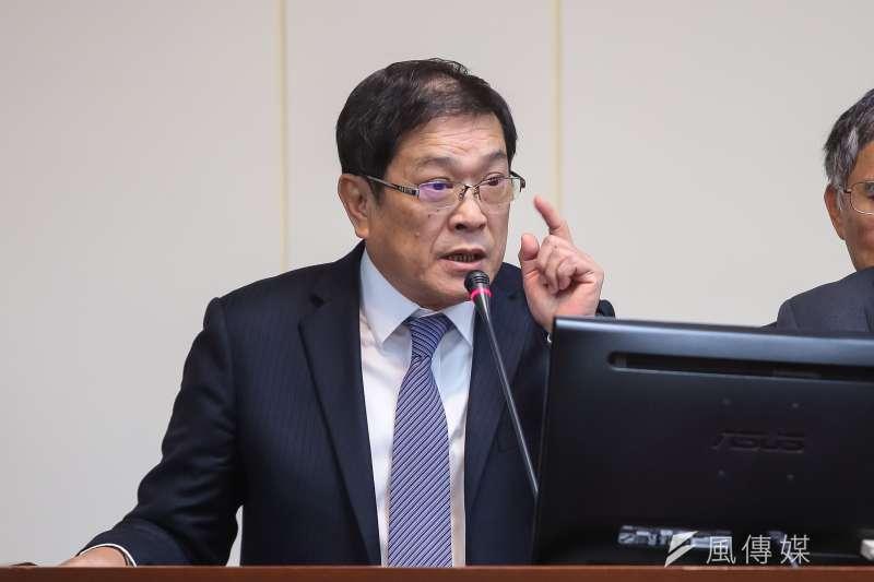 台電董事長楊偉甫13日於經濟委員會備詢。(資料照,顏麟宇攝)