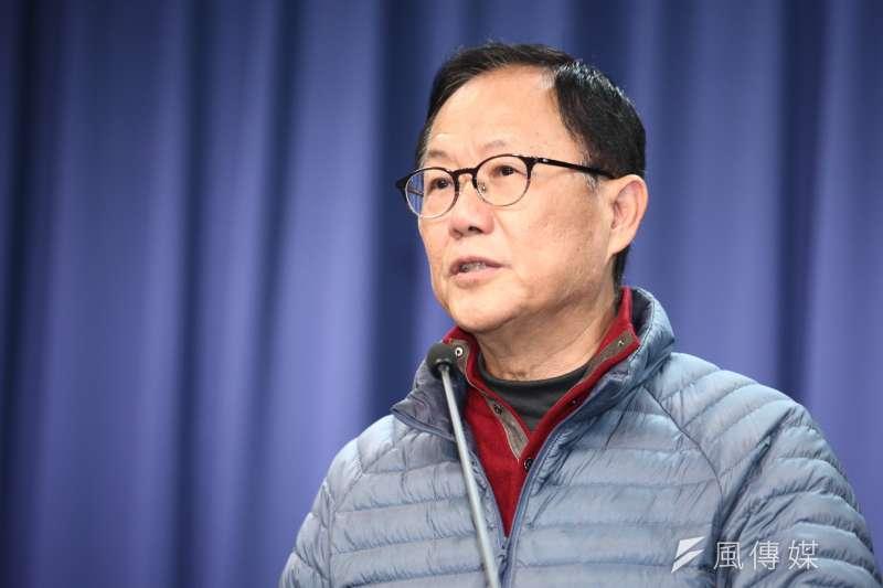 丁守中律師11日表示,台北市長選舉結果驗票時,「有些法官態度不是很積極」,以致有些選票是否違法,並未記載得很清楚,因此要求重新勘驗驗票結果。圖為丁守中。(資料照,蔡親傑攝)